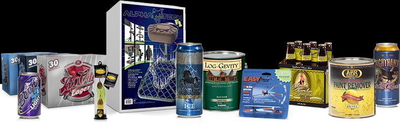 Packaging design solutions for companies pursuing aggressive design oriented results.